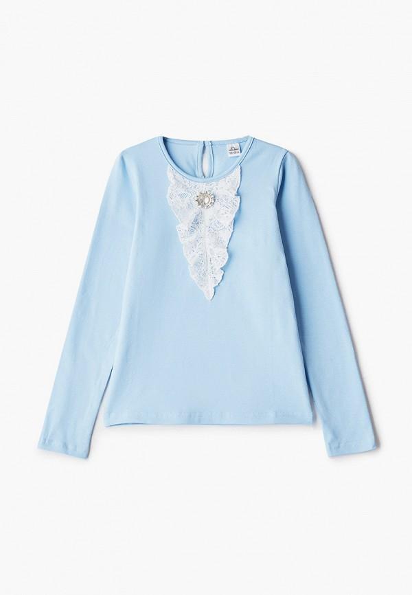 блузка vikki-nikki для девочки, голубая