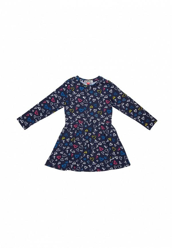 повседневные платье elaria для девочки, синее