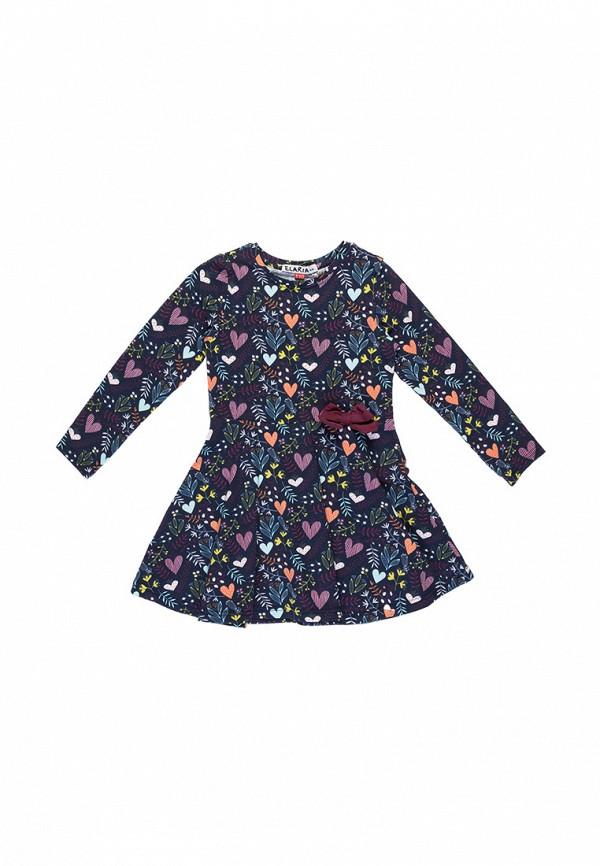 платье elaria для девочки, синее