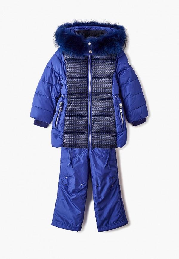 костюм mes ami для девочки, синий