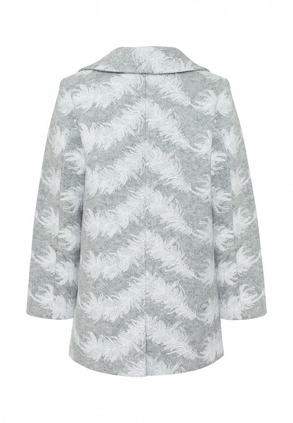 Пальто для девочки Смена цвет серый  Фото 2