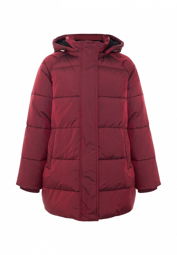 Куртка для девочки утепленная Смена цвет бордовый