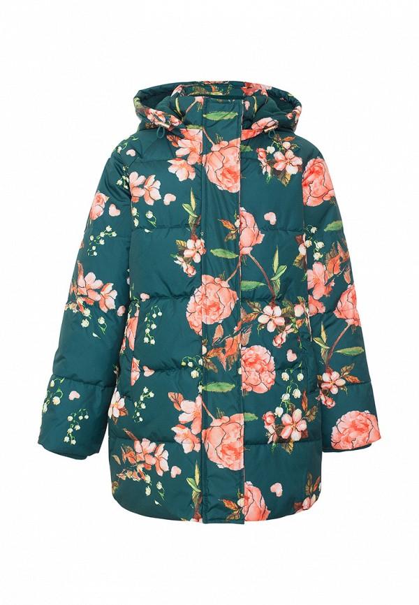 куртка смена для девочки, зеленая