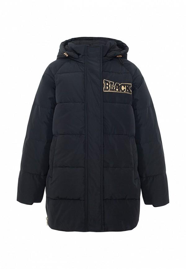 куртка смена для девочки, черная