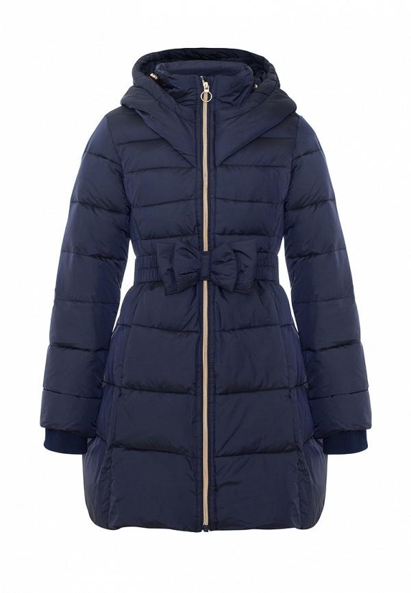 Куртка для девочки утепленная Смена цвет синий