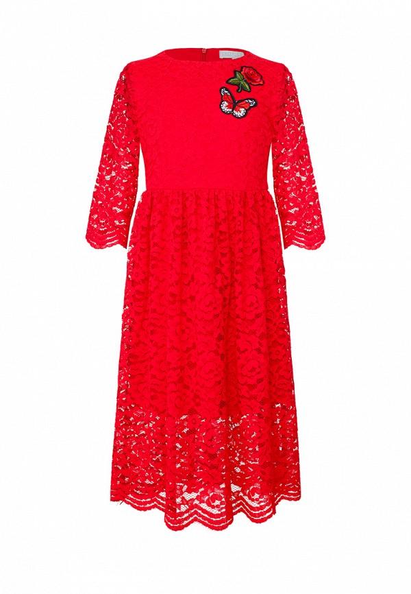 Платья для девочки Смена цвет красный