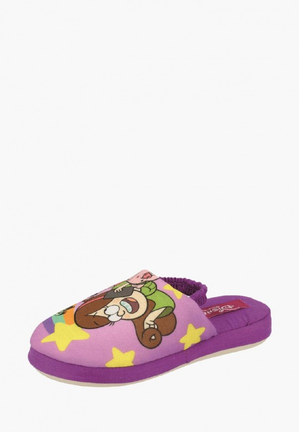 тапочки de fonseca для девочки, фиолетовые
