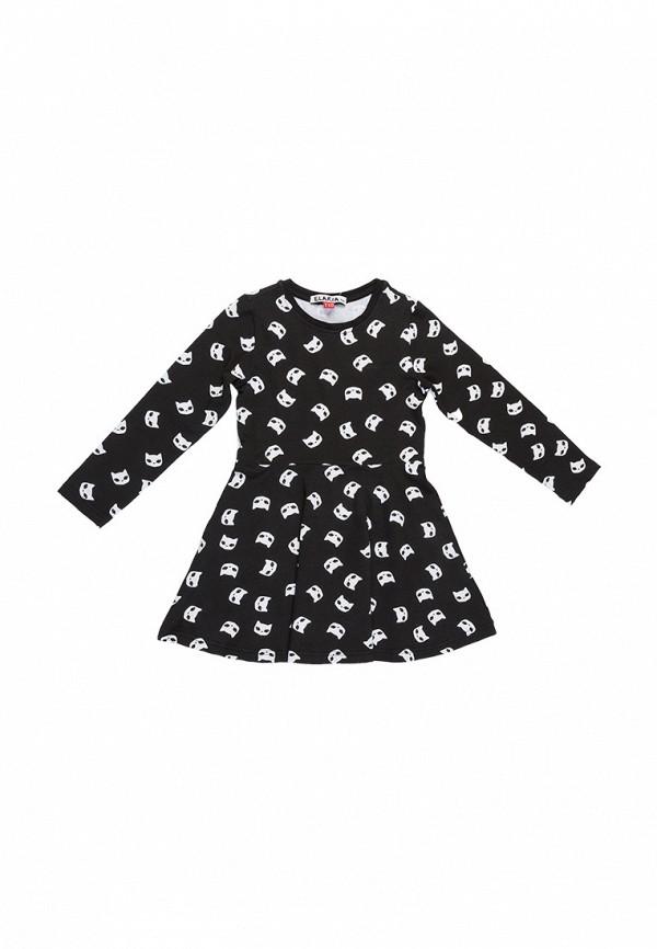 повседневные платье elaria для девочки, черное