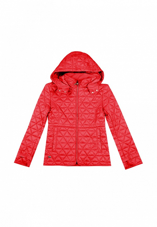 куртка noble people для девочки, красная