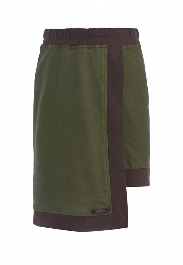 юбка gem kids для девочки, зеленая