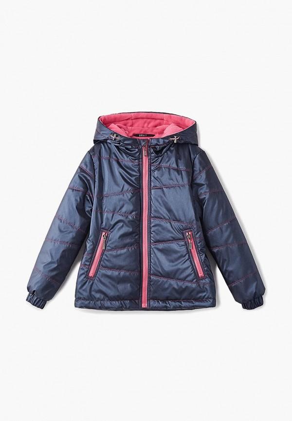 куртка saima для девочки, синяя