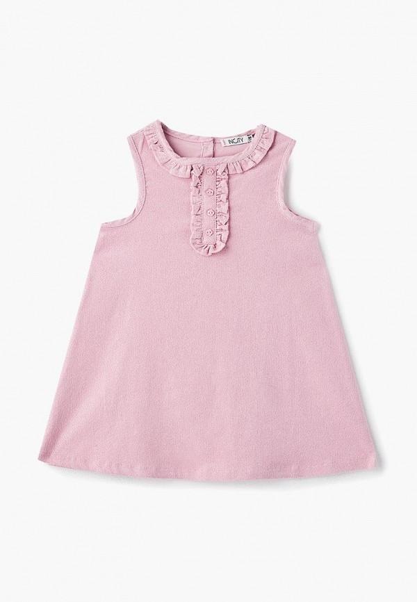 Купить Платье Incity, mp002xg00ega, розовый, Осень-зима 2018/2019