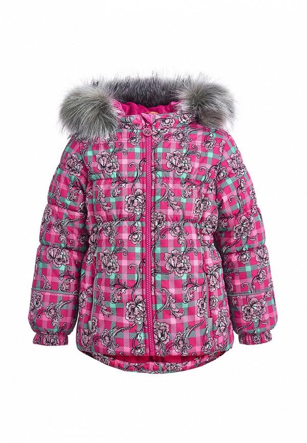 куртка kisu для девочки, розовая