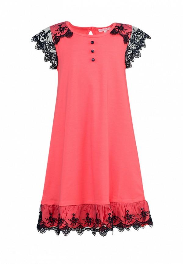 повседневные платье красавушка для девочки, розовое