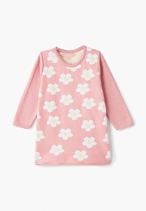 повседневные платье лапушка для девочки, розовое