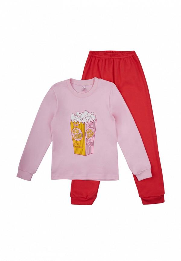 пижама габби для девочки, розовая