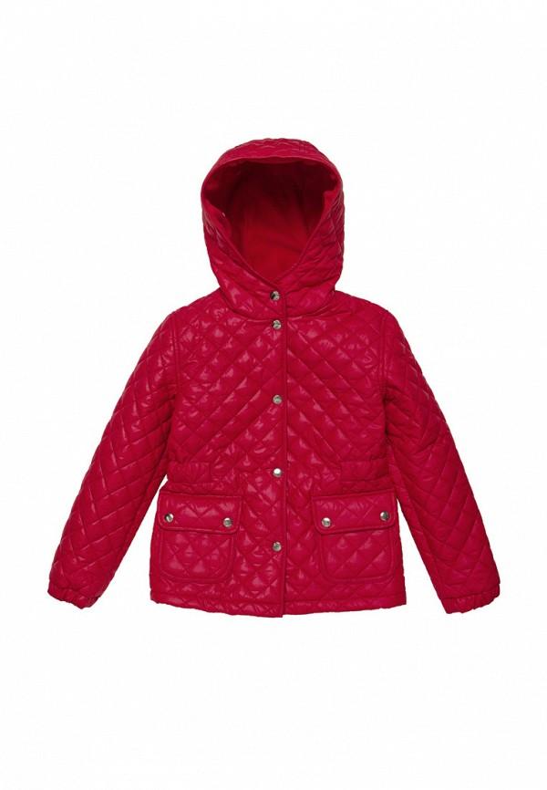 куртка cookie для девочки, красная