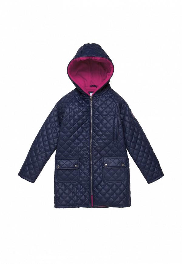 куртка cookie для девочки, синяя