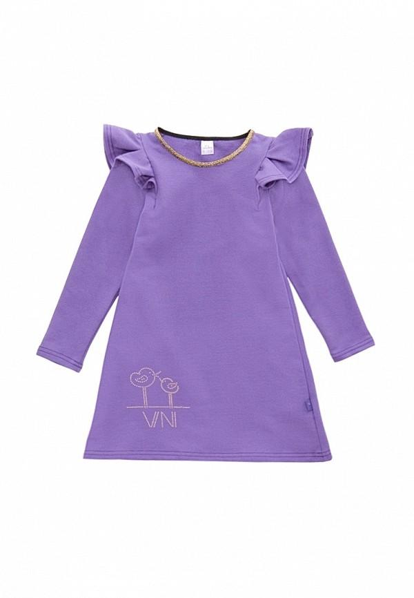 повседневные платье vikki-nikki для девочки, фиолетовое