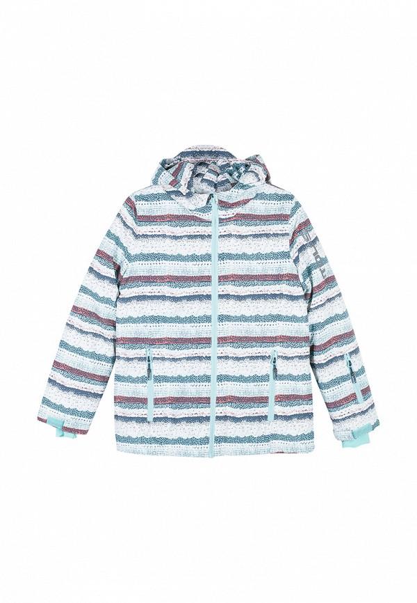 куртка coccodrillo для девочки, голубая
