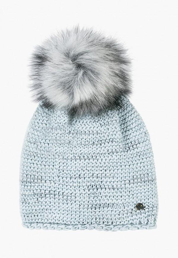 шапка coccodrillo для девочки, голубая