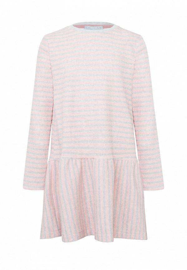 повседневные платье смена для девочки, розовое