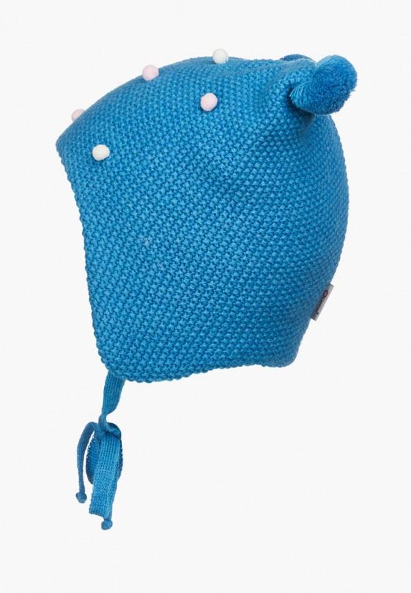 шапка oldos для девочки, бирюзовая