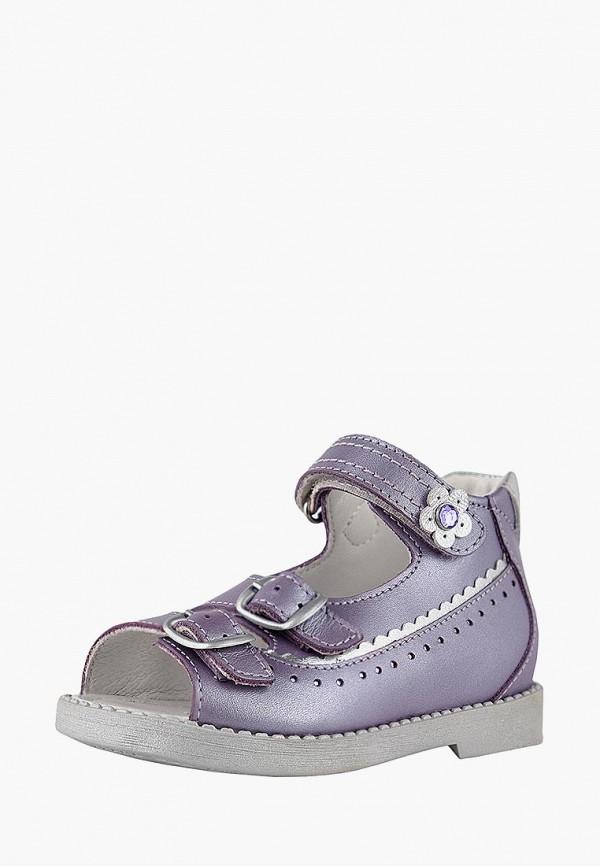 сандалии reike для девочки, фиолетовые