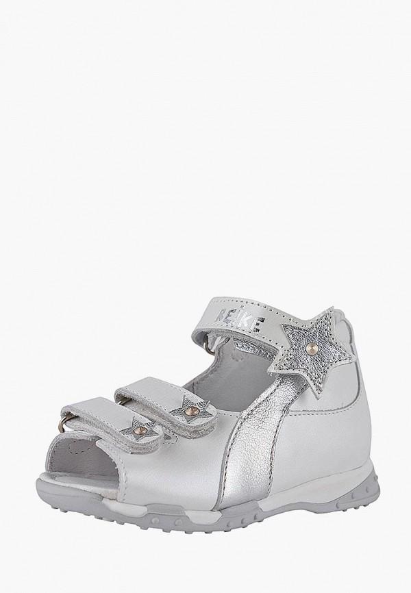 сандалии reike для девочки, белые