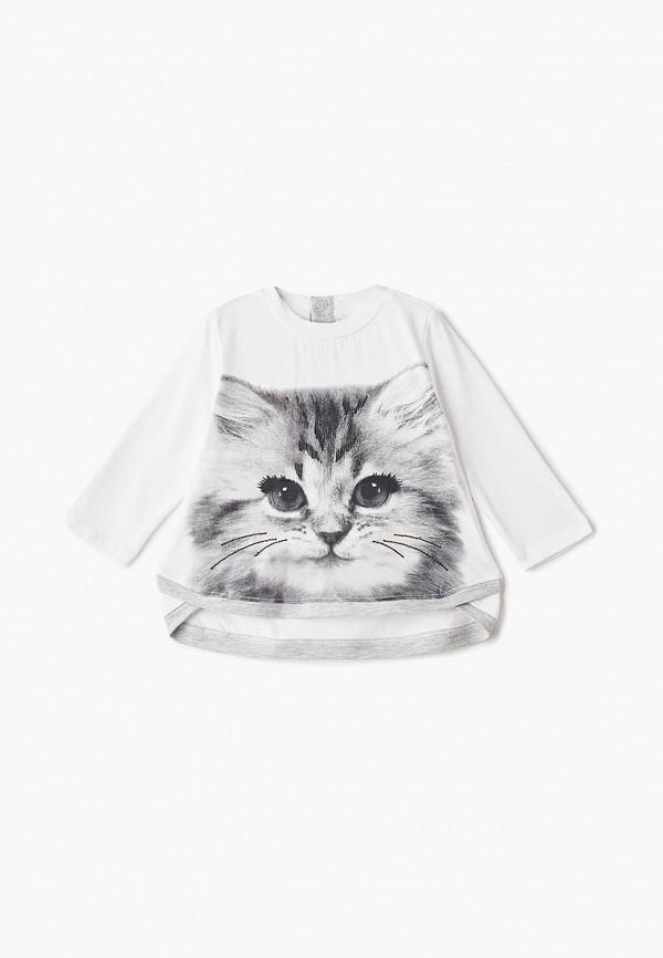 блузка pixo для девочки, белая