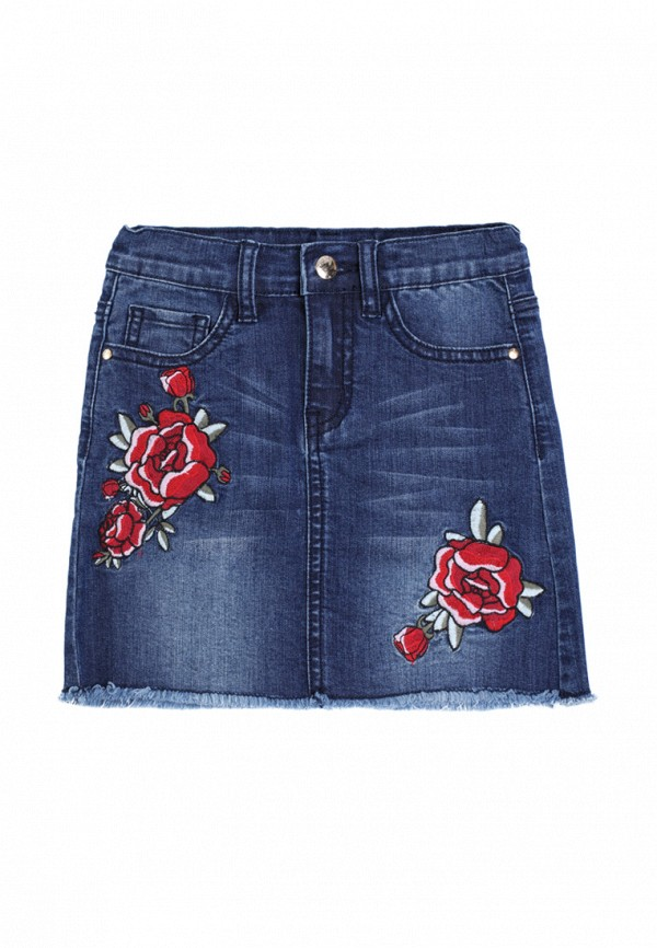 джинсовые юбка playtoday для девочки, синяя