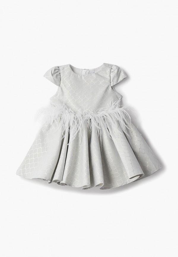 платье mili для девочки, зеленое
