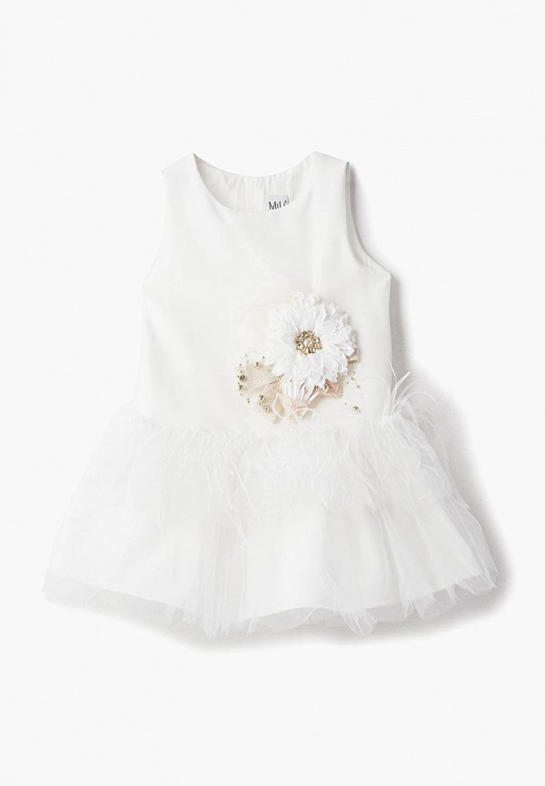 Купить Платье MiLi, mp002xg00f2n, белый, Весна-лето 2019