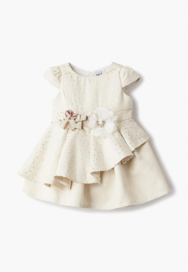платье mili для девочки, золотое