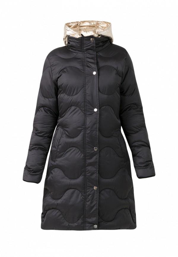 пальто jan steen для девочки, черное