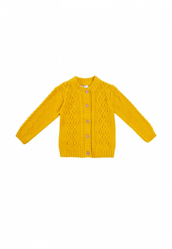 кардиган playtoday для девочки, желтый