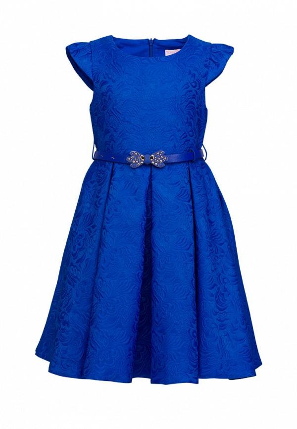 платье красавушка для девочки, синее