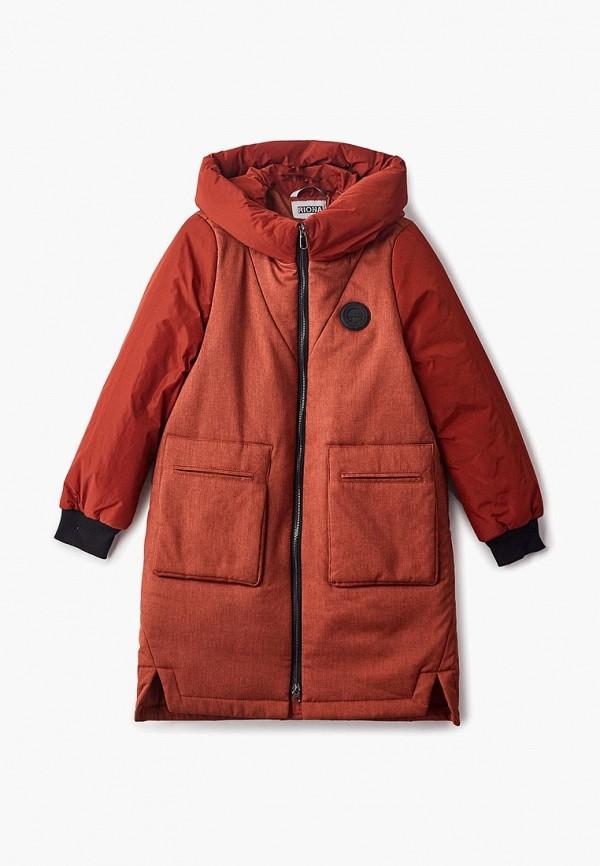куртка rionakids для девочки, оранжевая