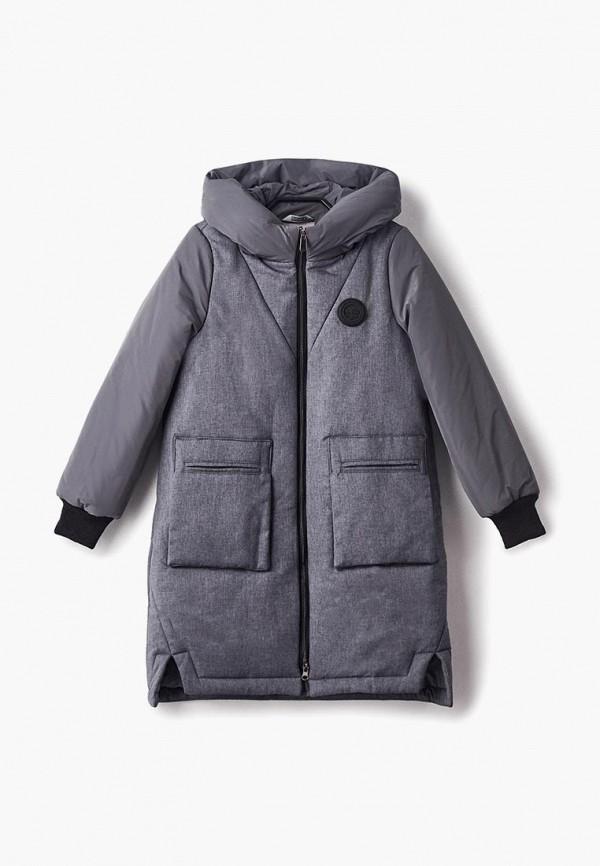 куртка rionakids для девочки, серая