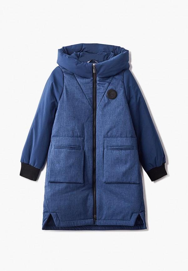 куртка rionakids для девочки, синяя