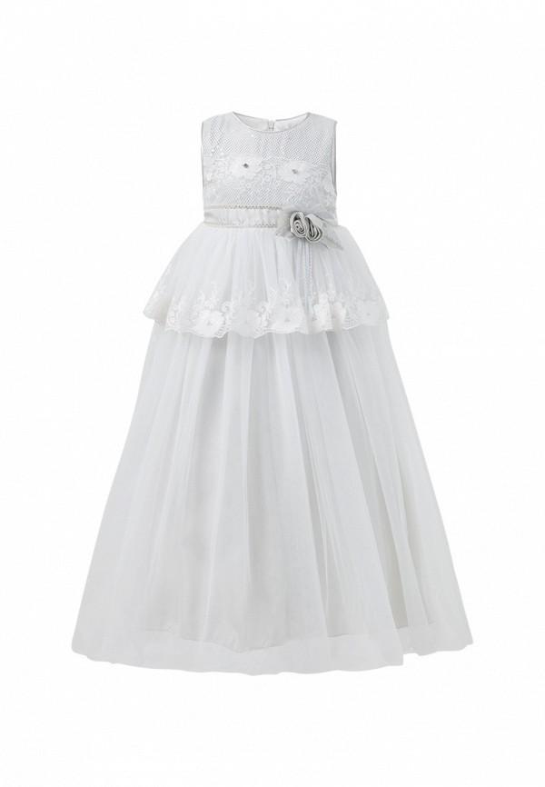 платье baby steen для девочки, серое