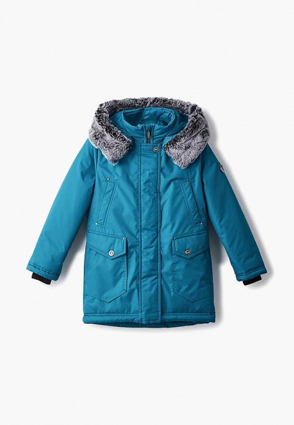 куртка saima для девочки, зеленая