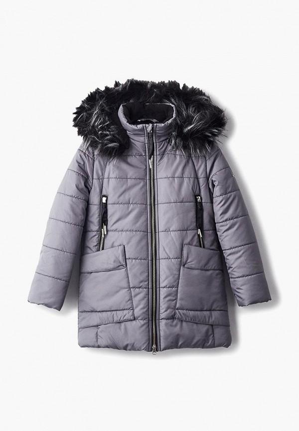 куртка saima для девочки, серая
