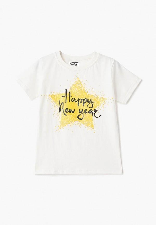 футболка elaria для девочки, белая