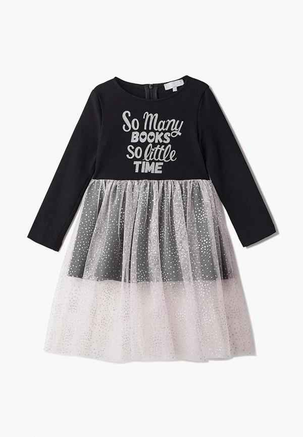 повседневные платье смена для девочки, черное