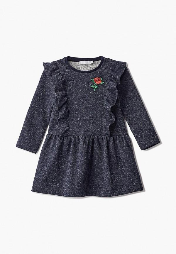 повседневные платье смена для девочки, синее