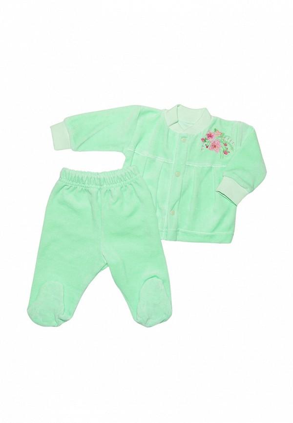 костюм клякса для девочки, зеленый