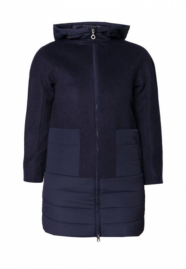 пальто finn flare для девочки, синее
