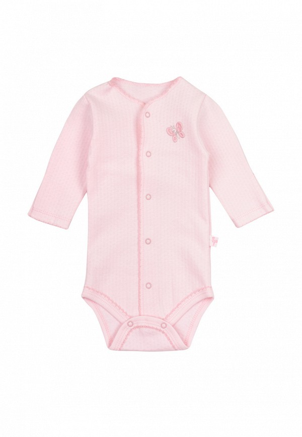 боди фламинго текстиль для девочки, розовые