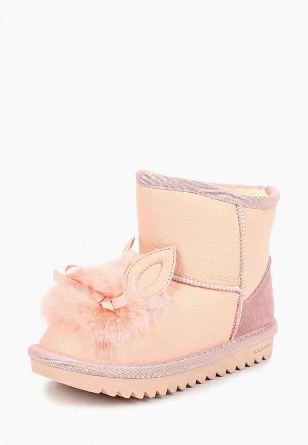 сапоги капитошка для девочки, розовые
